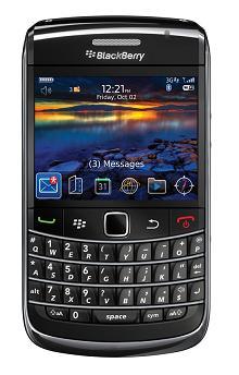 Blackberry bold 9700 frente