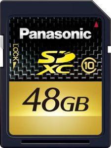 CES 2010 - 48 GB SDXC