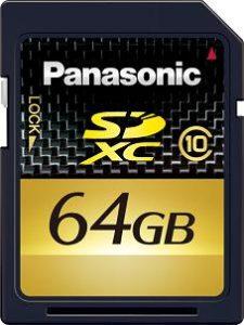 CES 2010 - 64 GB SDXC